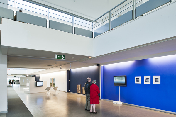 "Exposition ""Touching The Moon"" - Université Angers. Photo : Martin Argyroglo"